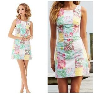 Lilly Pulitzer Multi State Patch Delia Dress 2